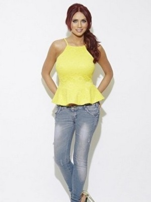 Amy Childs Official 'Debbie' peplum top, Summer collection 2015