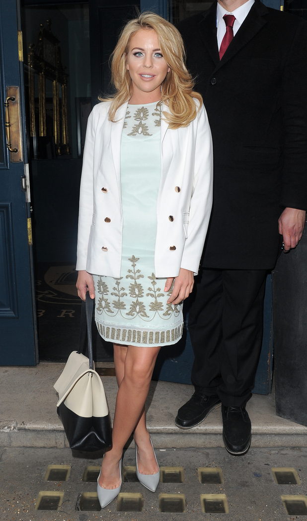 Lydia Bright attends Look of the Day collection launch at Library Club, 27th May 2015