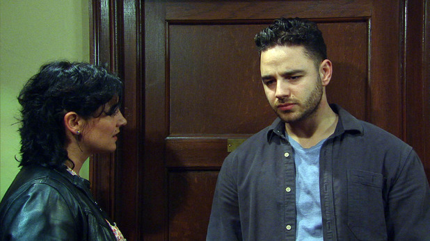 Emmerdale, Adam confides in Moira, Wed 27 May