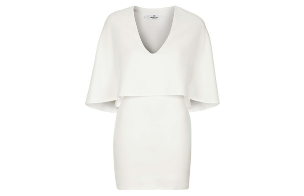 White Cape Dress, £42, Topshop 28th May 2015