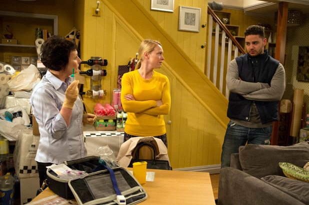 Emmerdale, Vanessa gets a DNA test, Thu 28 May