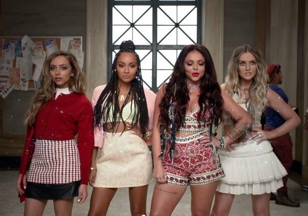 Little Mix 'Black Magic' video screenshot, 29th May 2015