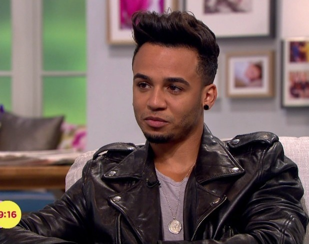 Aston Merrygold appears on 'Lorraine' to talk about the release of his first solo single 'Get Stupid'. Broadcast on ITV1 HD