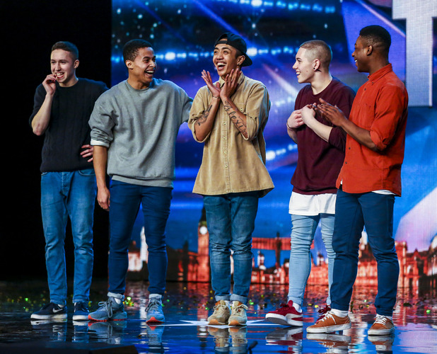 Britain's got talent Boyband