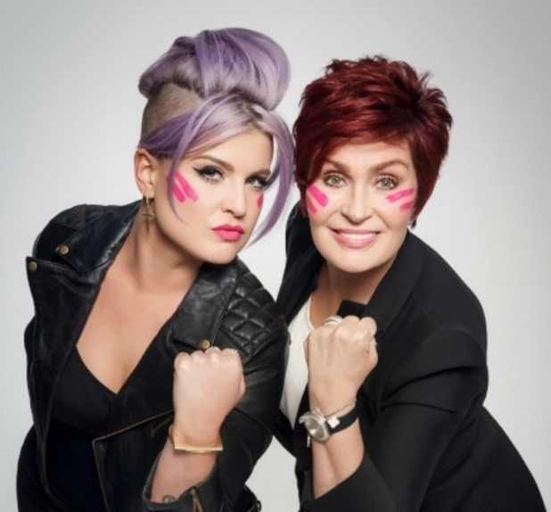 Sharon and Kelly Osbourne for Cancer Research UK