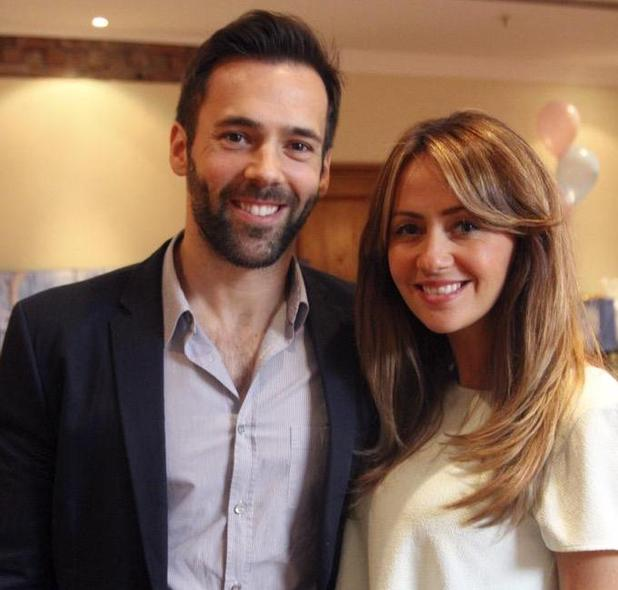 Samia Ghadie and fiancé Sylvain Longchambon, May 19 2015