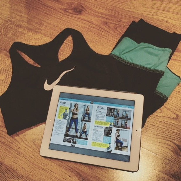 Holly Hagan Body Bible Blog: Day 23 workout