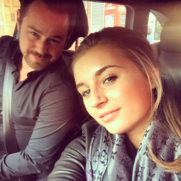 Danny Dyer and daughter Dani, 7 May 2015