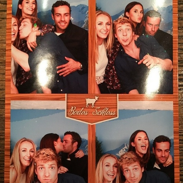 Lucy Watson, James Dunmore, Tiffany Watson and Sam Thompson, Instagram 26 May