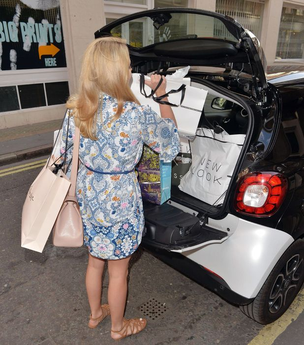 TOWIE's Lydia Bright out and about, London, Britain - 28 May 2015