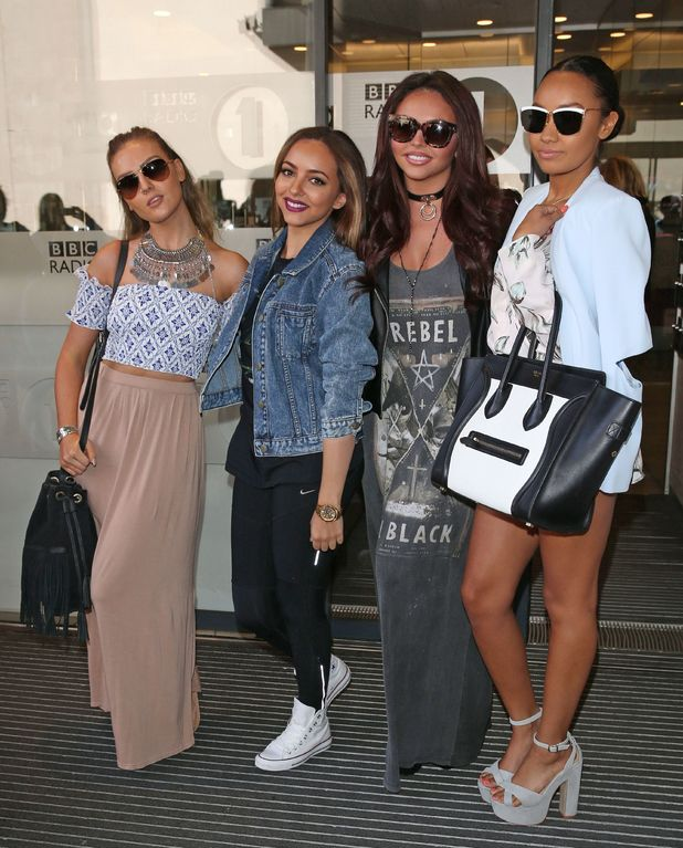 Little Mix out and about, London, Britian, 27th May 2015