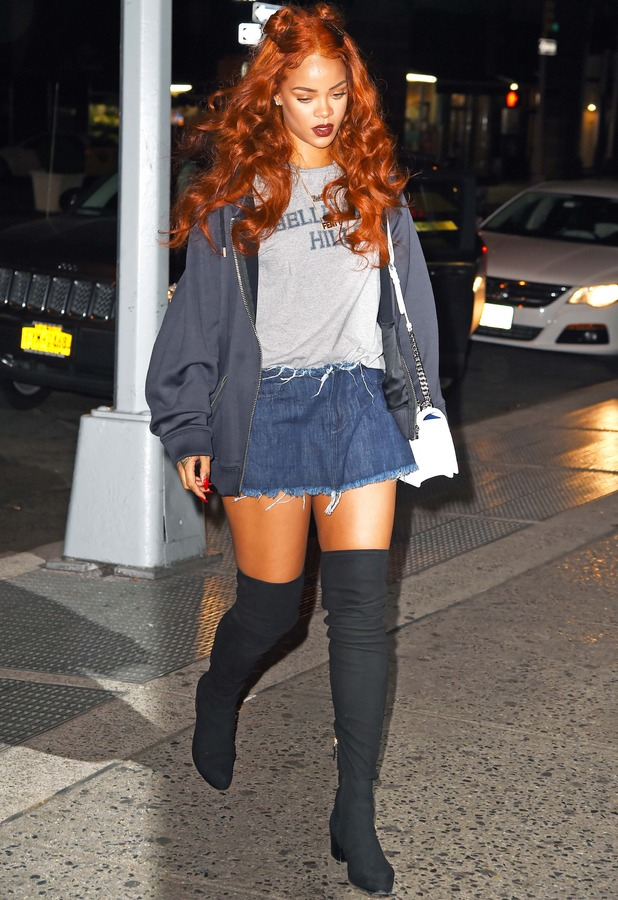 Rihanna out and about in New York 26th May 2014