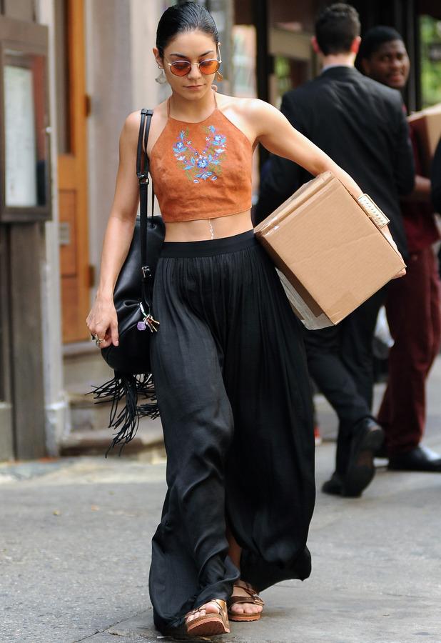 Vanessa Hudgens running errands in New York 28th May 2015