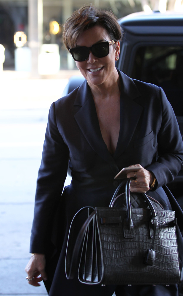 Kris Jenner arrives at Madeo Restaurant - 28 May 2015.