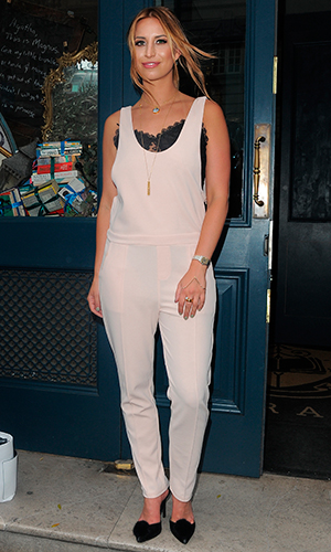 Ferne McCann attends Look of the Day collection launch at Library Club, 27 May 2015