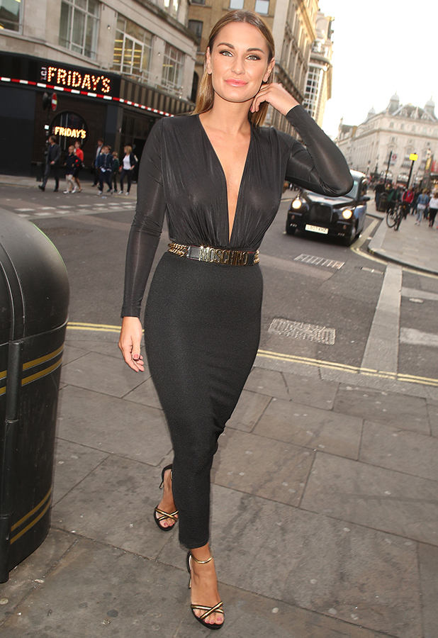 Sam Faiers at Cafe de Paris on May 28, 2015 in London, England.
