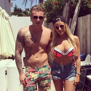 Georgia Kousoulou and Tommy Mallet, Marbella 3 June