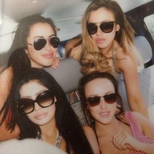 Marnie Simpson, Charlotte Crosby, Holly Hagan and Chloe Etherington film Geordie Shore in Greece 4 June