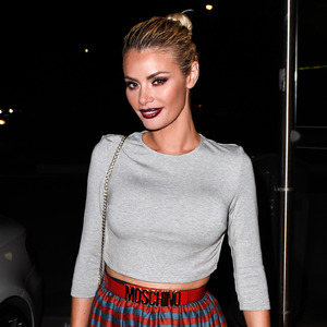 TOWIE's Chloe Sims on night out in Marbella 5th June 2015