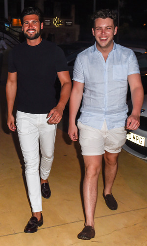 Dan Edgar, Lewis Bloor and James Diags Bennewith, Marbella 2 June