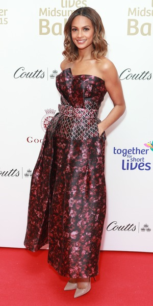 Alesha Dixon, Together For Short Lives charity ball, London 3 June