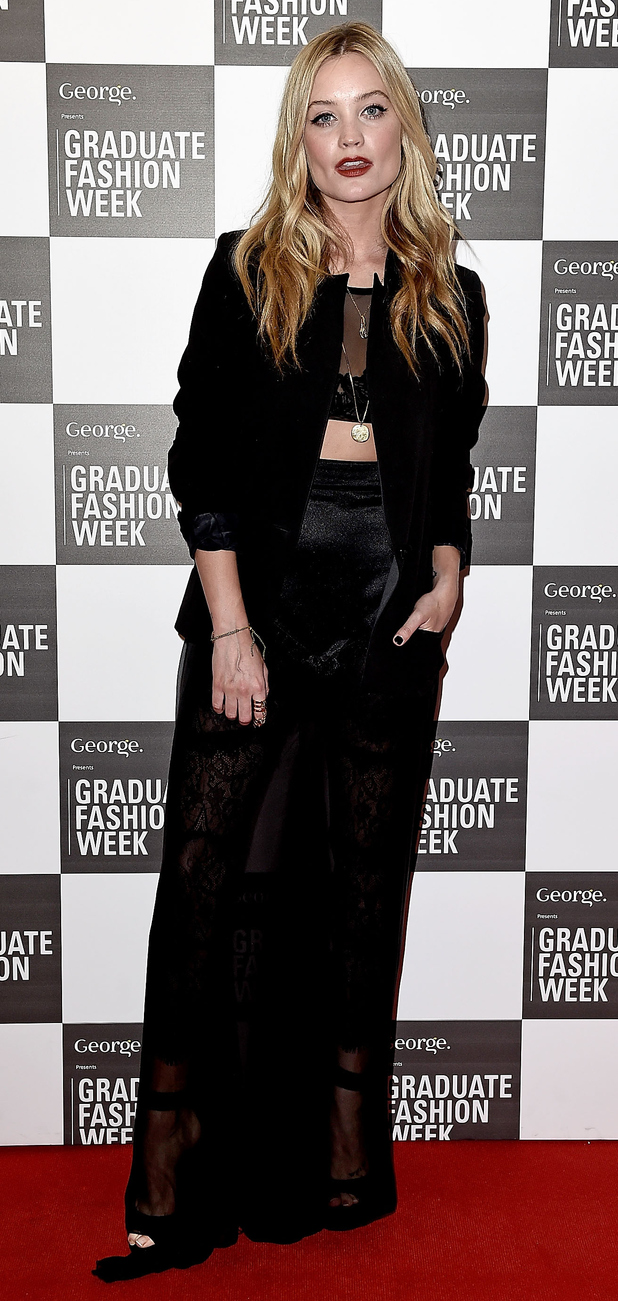 Laura Whitmore at the Graduate Fashion Awards in East London, 3rd June 2015