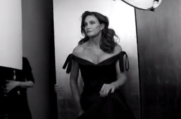 Bruce Jenner reveals new identity as Caitlyn Jenner in behind-the-scenes Vanity Fair video - 1 June 2015.