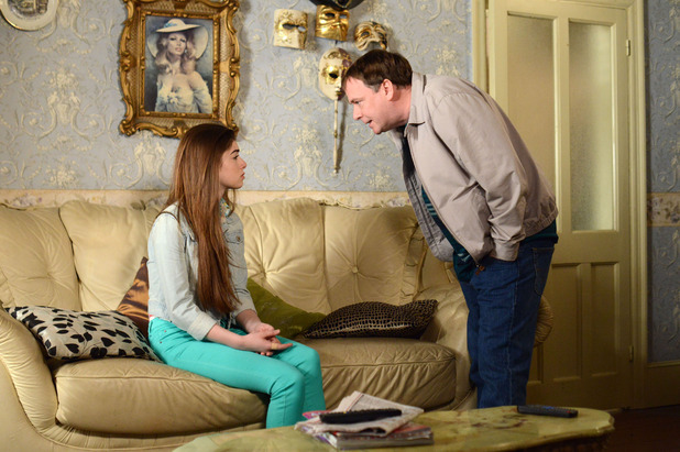 EastEnders, Ian threatens Cindy, Fri 5 Jun