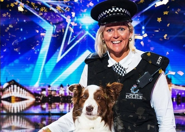 Jules O'Dwyer and Matisse are crowned Britain's Got Talent winners 2015, 31st May 2015