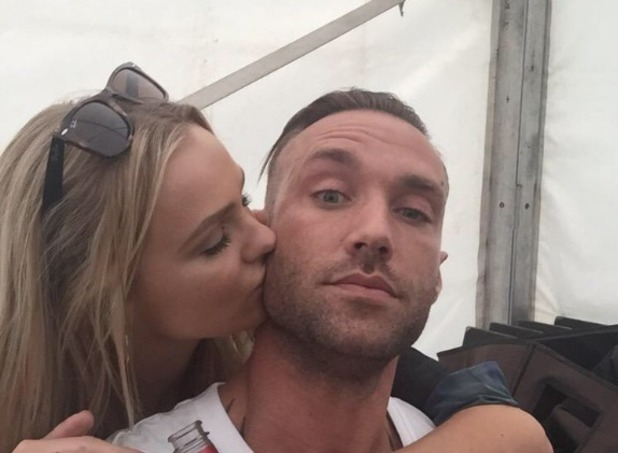 Calum Best looks loved up with girlfriend Ianthe, just two weeks after their brief split - 31 May 2015.