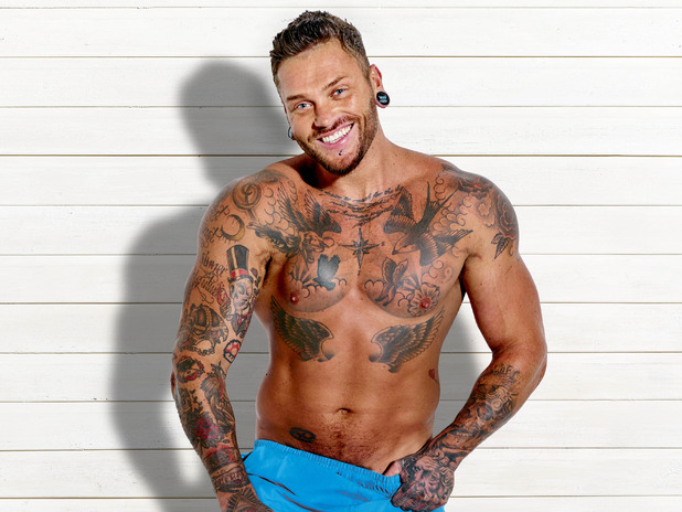 Jordan Ring, Love Island Press shots, ITV2 1 June