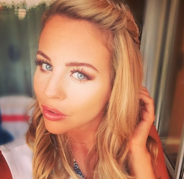 Lydia Rose Bright, TOWIE posts picture  of her braid in Marbella to Instagram, 4th June 2015