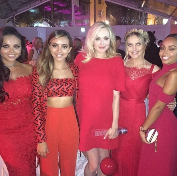 Little Mix and Fearne Cotton at the Glamour Awards, Instagram 2 June