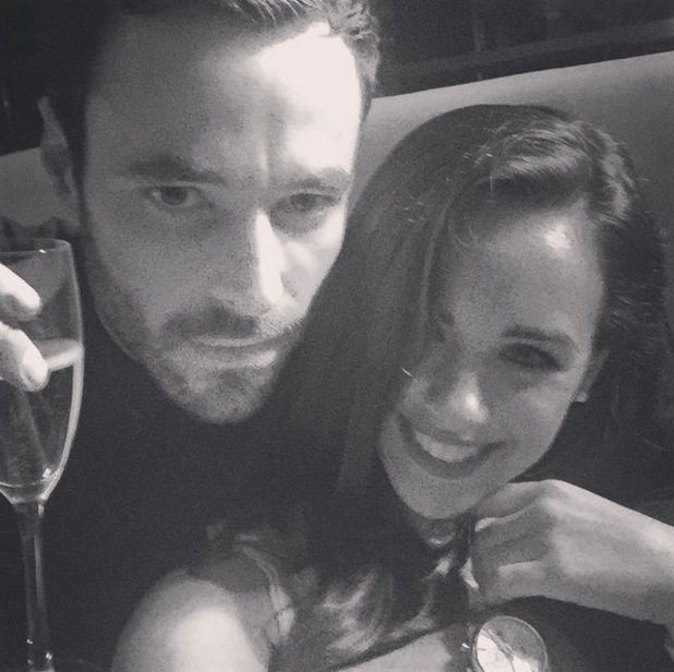 Georgia May Foote shares loved-up photo with Corrie star boyfriend Sean Ward - 31 May 2015.