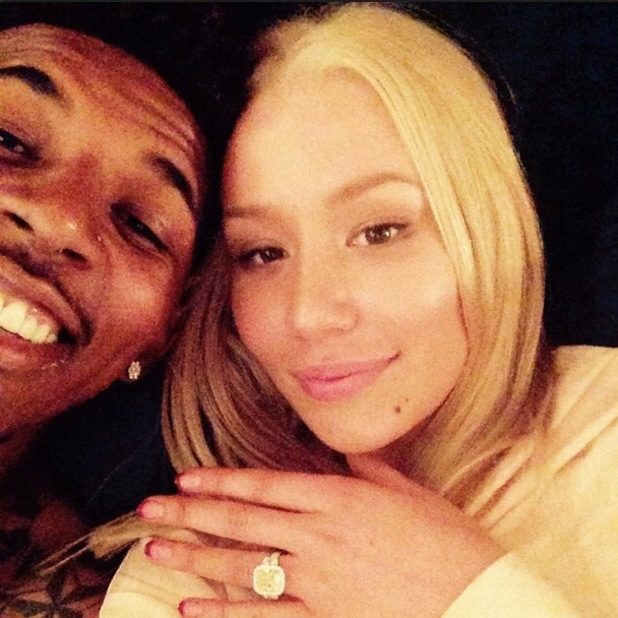 Iggy Azalea and Nick Young engaged, Instagram 2 June
