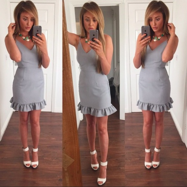 Charlotte Crosby rocks outfit from her own collection, 5 June 2015
