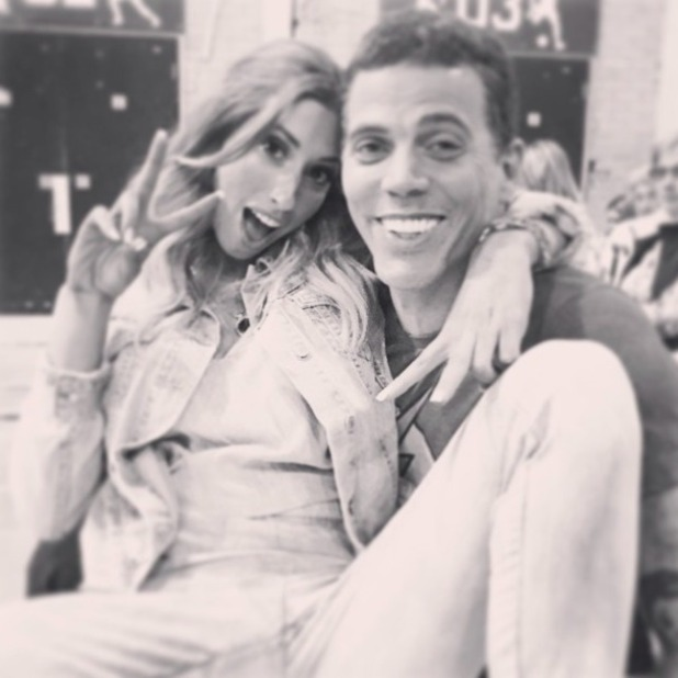 Stacey Soloman and Steve-O muck around in new selfie, 4 June 2015