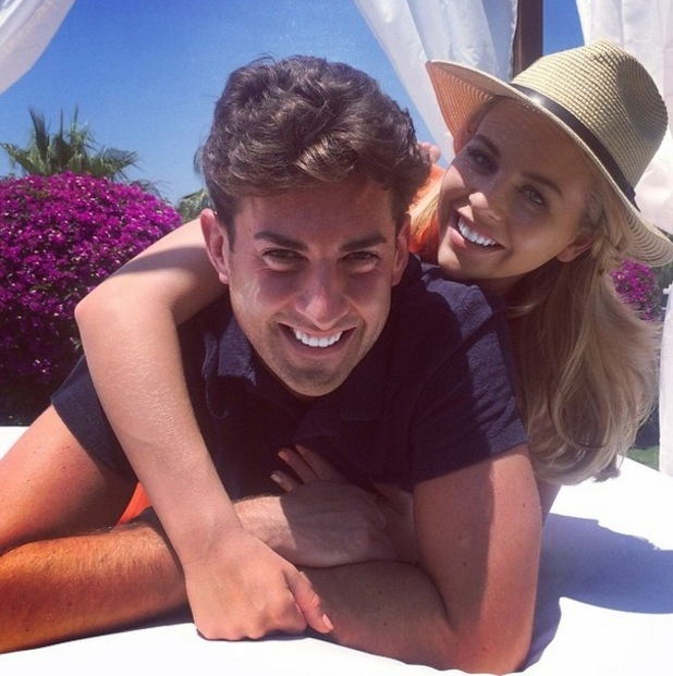 Lydia Bright and James Arg Argent, Marbella 1 June