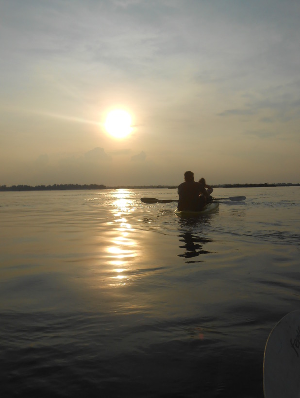Kayaking in Kratie, 3/6/15