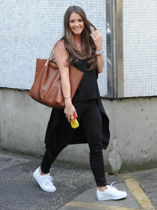 Brooke Vincent outside the ITV studios - 4 June 2015.