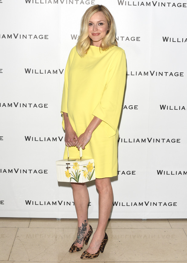 Fearne Cotton attends WilliamVintage's Summer Party held at Claridges, 5 June 2015