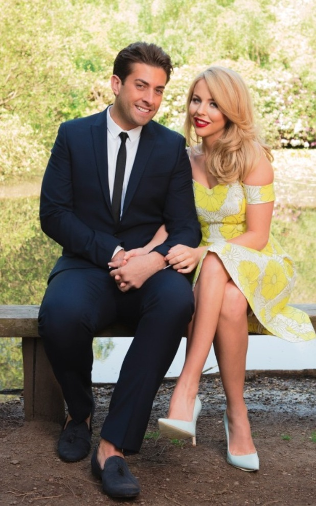 Lydia and Arg on the Reveal shoot in Essex