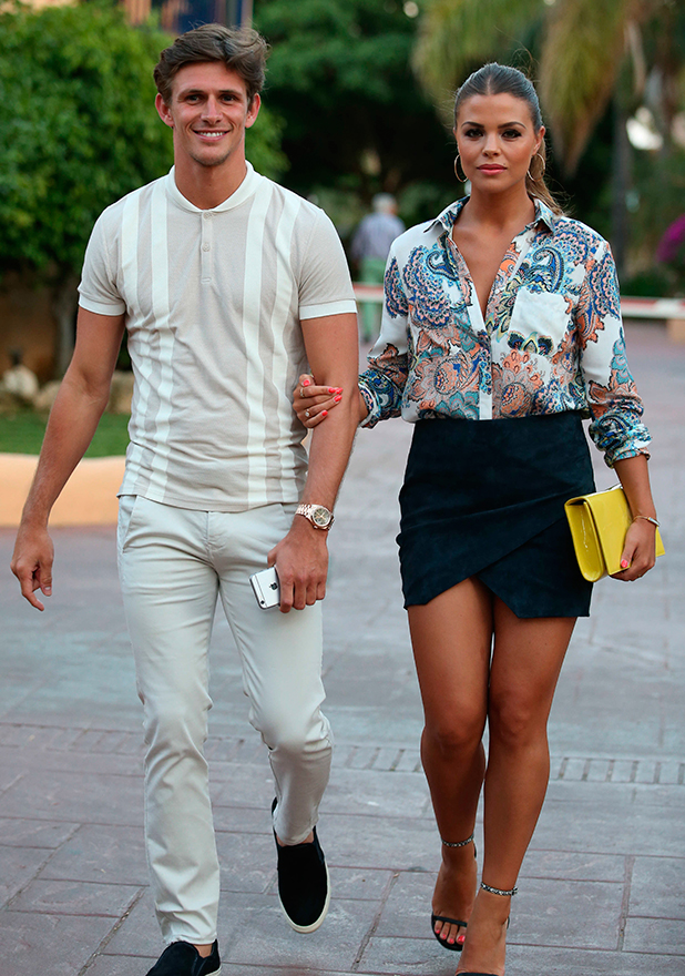 The Only Way Is Essex' in Marbella, Spain - 03 Jun 2015 Jake Hall and Chloe Lewis