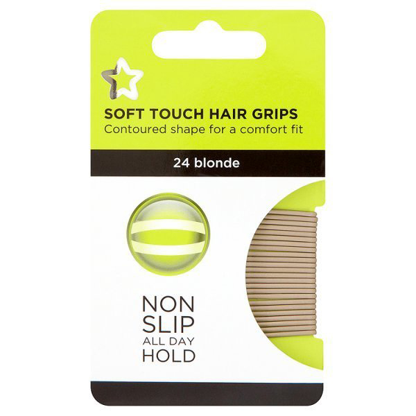 Superdrug Soft Touch Hair Grips, £1.85 4th June 2015