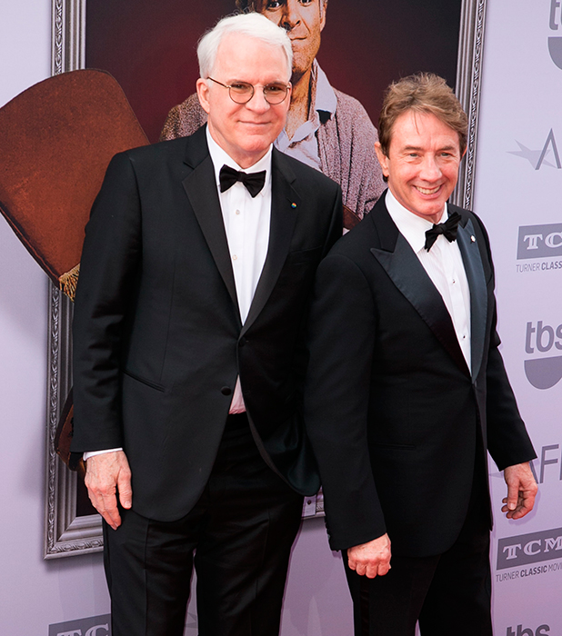 Steve Martin and Martin Short attend American Film Institute's 43rd Life Achievement Award Gala at Dolby Theatre. 4 June 2015