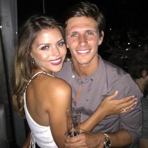Jake Hall and Chloe Lewis, Marbella 7 June