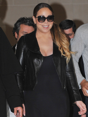 Mariah Carey leaves hotel in Paris, France - 10 June 2015.