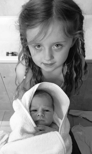 Abbey Clancy shares photo of Sophia and Liberty Rose 7 June