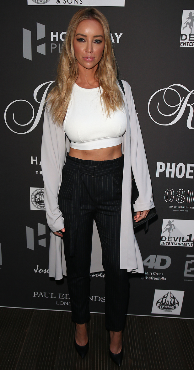 TOWIE's Lauren Pope at the Joshua Kane 'Grand Illusion' - Spring/Summer 2016 Men's Collection Runway Show 12th June 2015
