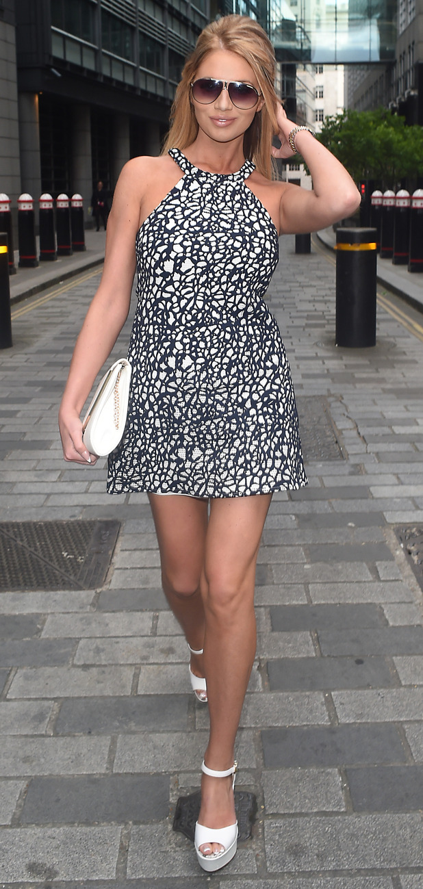 Amy Childs outside the Smart Girls Fake it party in London 10th June 2015